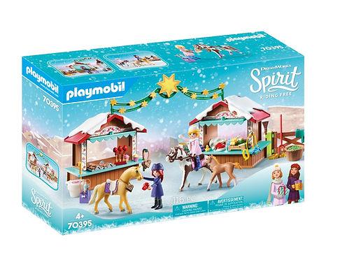Playmobil DreamWorks Spirit 70395 A Miradero Christmas