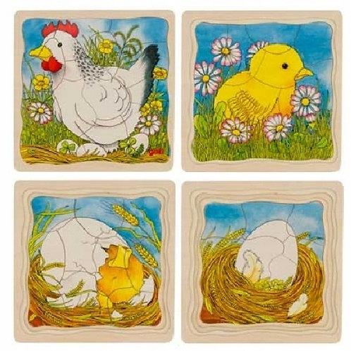 Goki Puzzle Chicken