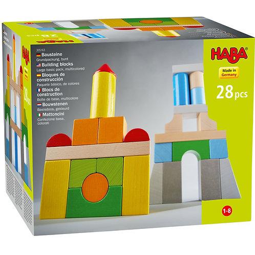 Haba Building Blocks  Basic Pack Multicolored