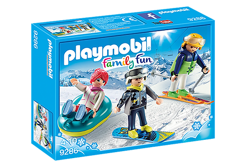 Playmobil 9286 Action Winter Sports Trio