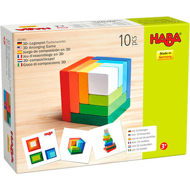 Haba 3D Arranging Game Rainbow Cube