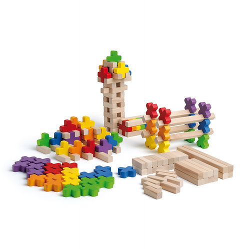 Erzi Building Log Toy