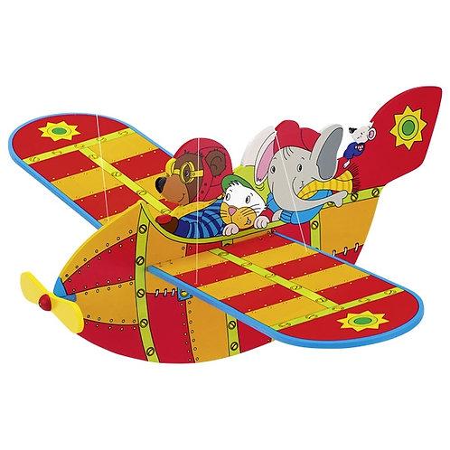 Goki Animal Airlines, Swinging Figure