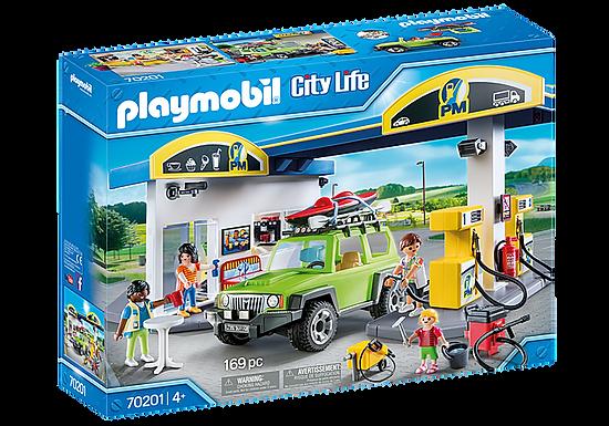 Playmobil 70201 City Life Vehicle World Petrol Station