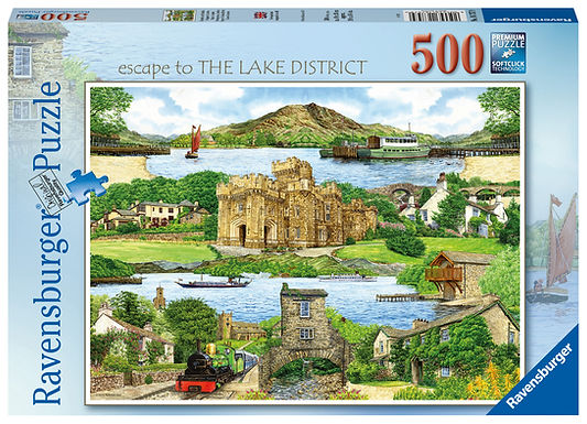 Ravensburger Escape to The Lake District, 500pc Jigsaw Puzzle