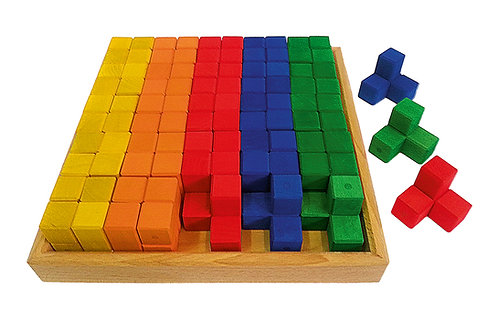Bauspiel Corner Blocks 50 pcs