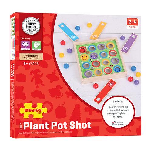 BigJigs Plant Pot Shot