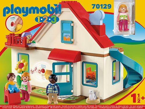 Playmobil 1.2.3 70129 Family Home