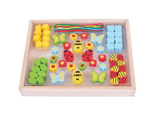 BigJigs Bead Box - Garden
