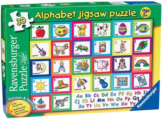 Ravensburger Alphabet Puzzle, 30pc Jigsaw Puzzle