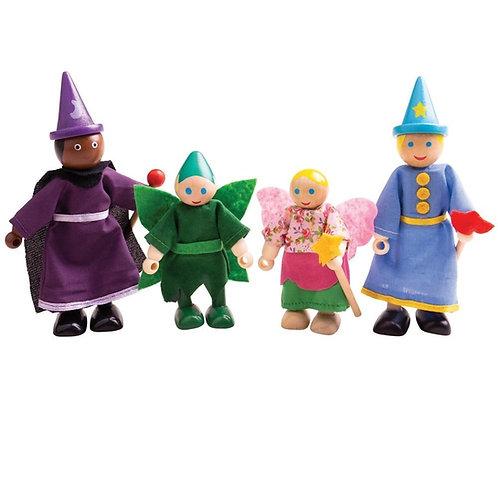 BigJigs Fantasy Dolls