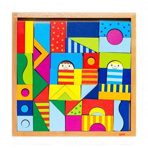 Goki Shalimar, Puzzle