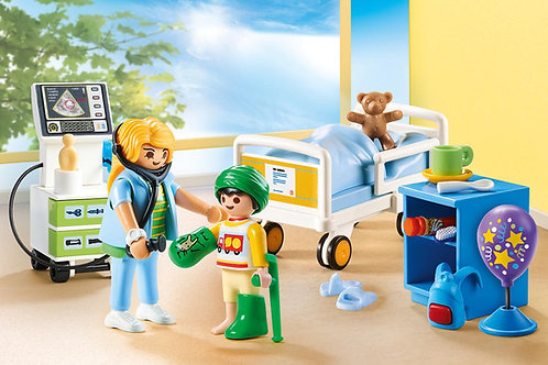 Playmobil 70192 Children's Hospital Room