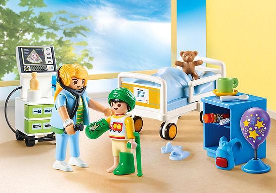 Playmobil 70192 Children's Hospital Room