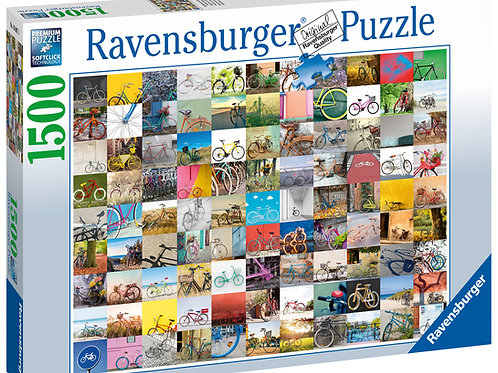 Ravensburger 99 Bicycles, 1500pc Jigsaw Puzzle
