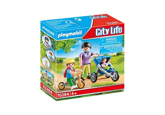 Playmobil 70284 City Life Pre-School Mother with Children