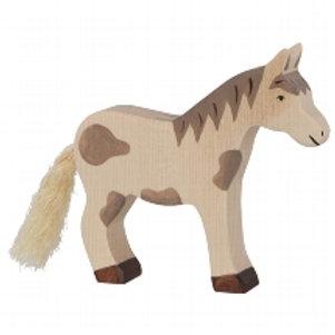 Holztiger Horse, Standing, Dappled