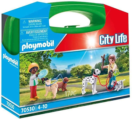 Playmobil 70530 Puppy Playtime Carry Case