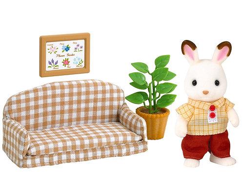 Sylvanian's Chocolate Rabbit Father