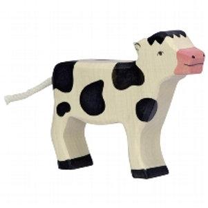 Holztiger Calf, Standing, Black