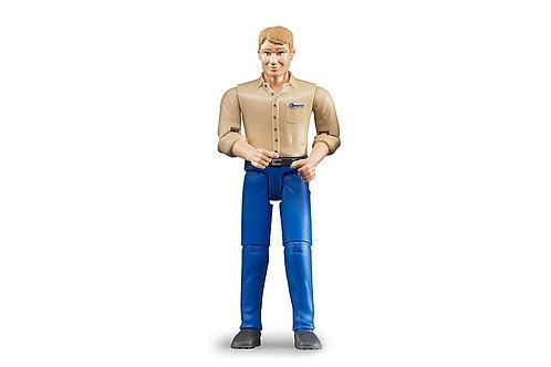 Bruder man Blue Jeans