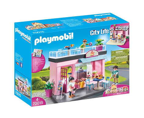Playmobil 70015 City Life My Little Town Cafe