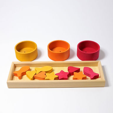 Grimms Rainbow Bowls Sorting Game