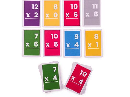 BigJigs Flashcards - Multiplications 7-12 (1 set)
