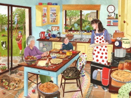The House of Puzzles - Baking Apple Pies - 1000 piece Jigsaw