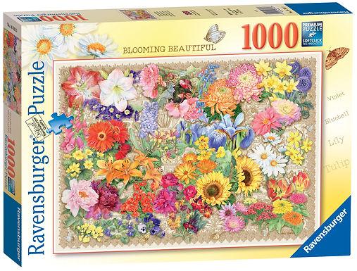 Ravensburger Blooming Beautiful, 1000pc Jigsaw Puzzle
