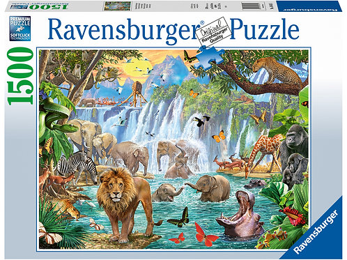 Ravensburger Waterfall Safari, 1500pc Jigsaw Puzzle