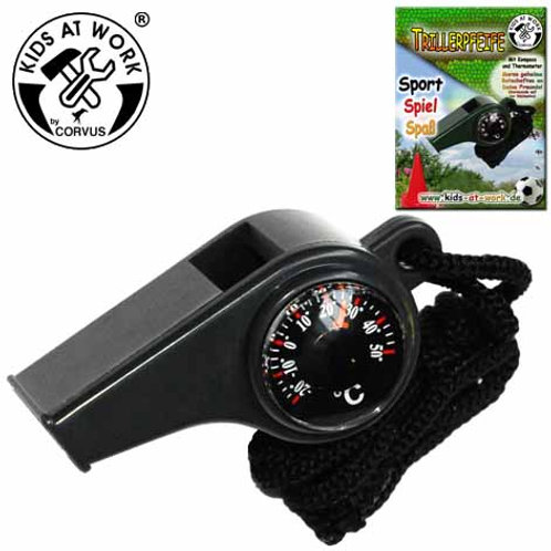 Tools for Juniors  Whistle Compass/Thermometer