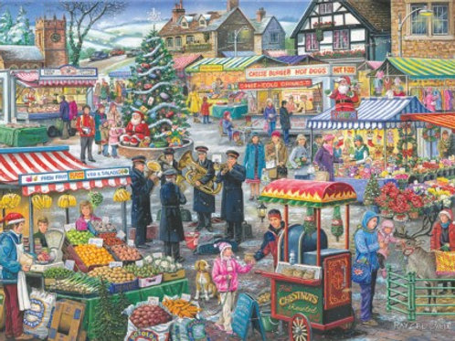 The House of Puzzles - No.5 FESTIVE MARKET  - Find the Difference - 1000 piece