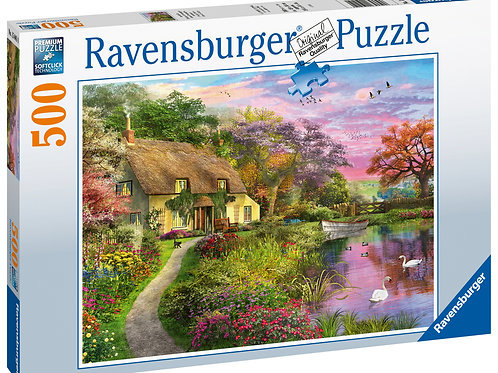 Ravensburger Country House, 500pc Jigsaw Puzzle