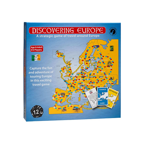 Gosling Games Discovering Europe