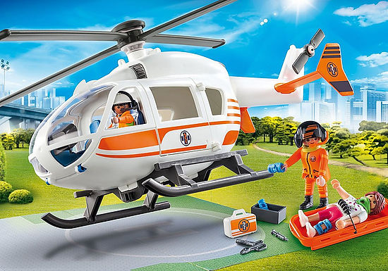 Playmobil 70048 Rescue Helicopter