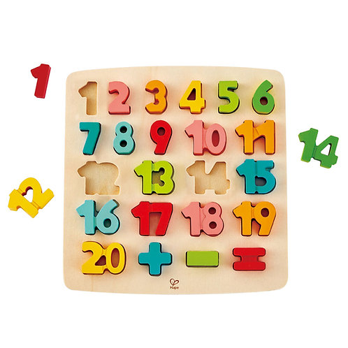 Hape Chunky Number Puzzle