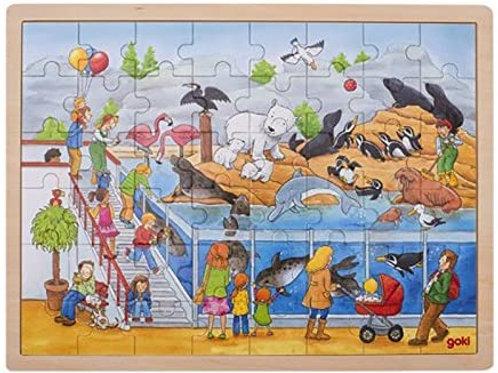 Goki Puzzle Visit At The Zoo
