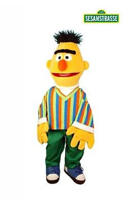 Living Puppets 45cm Bert - Sesame Street