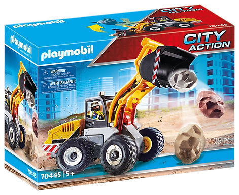 Playmobil 70445 City Action Construction Front End Loader