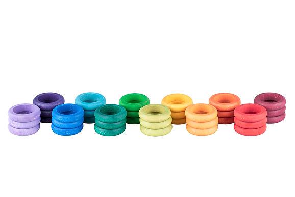Grapat 36 X Rings (12 Colors)