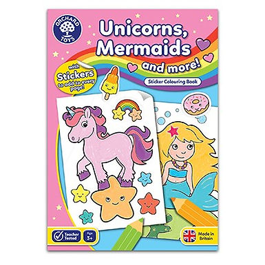 Orchard Toys Unicorns, Mermaids and More Colouring Book