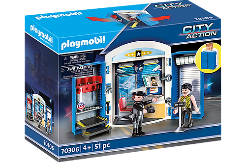 Playmobil 70306 Police Station Play Box