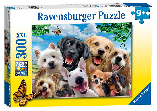 Ravensburger Delighted Dogs XXL 300pc Jigsaw Puzzle