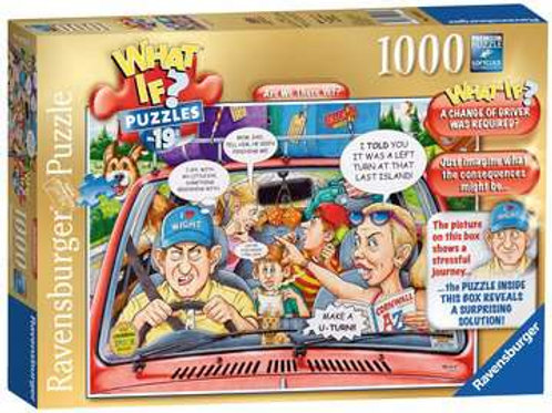 Ravensburger WHAT IF? Are We There Yet? 1000pc Jigsaw Puzzle