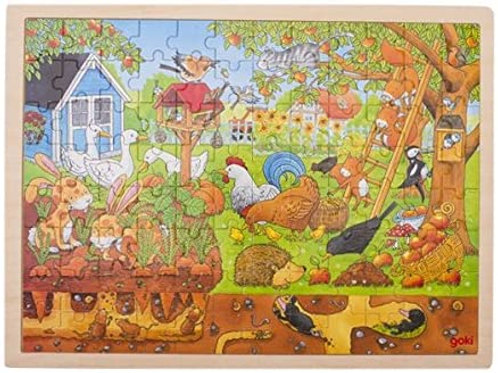 Goki Puzzle, Our Garden - Over And Underground