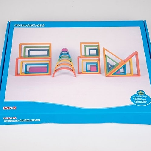 TickiT Rainbow Architect Set