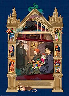 Ravensburger Harry Potter On the way to Hogwarts 1000pc Jigsaw Puzzle