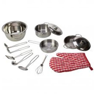 BigJigs Stainless Steel Kitchenware Set