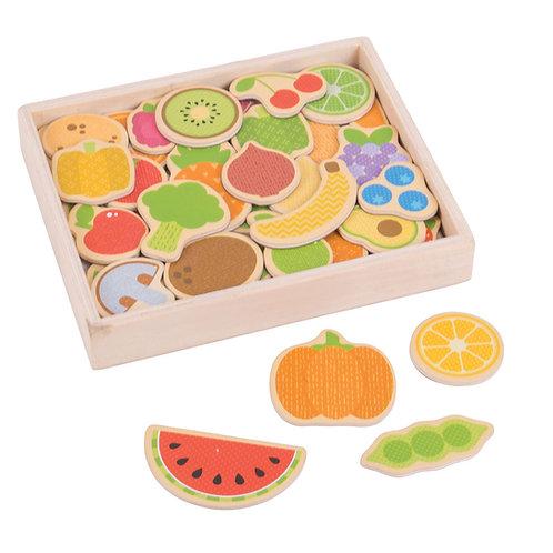 BigJigs Fruit and Veg Magnets